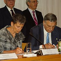 Signing Ceremony of Cooperation Agreement